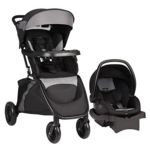 sorSafe Epic Travel System with LiteMax Infant Car Seat, Jet ()