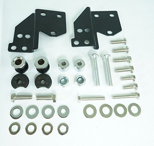 Front Docking Hardware Kit for Harley Davidson '97-'08 Touring Models FLHX FLHR FLTR FLHT and more