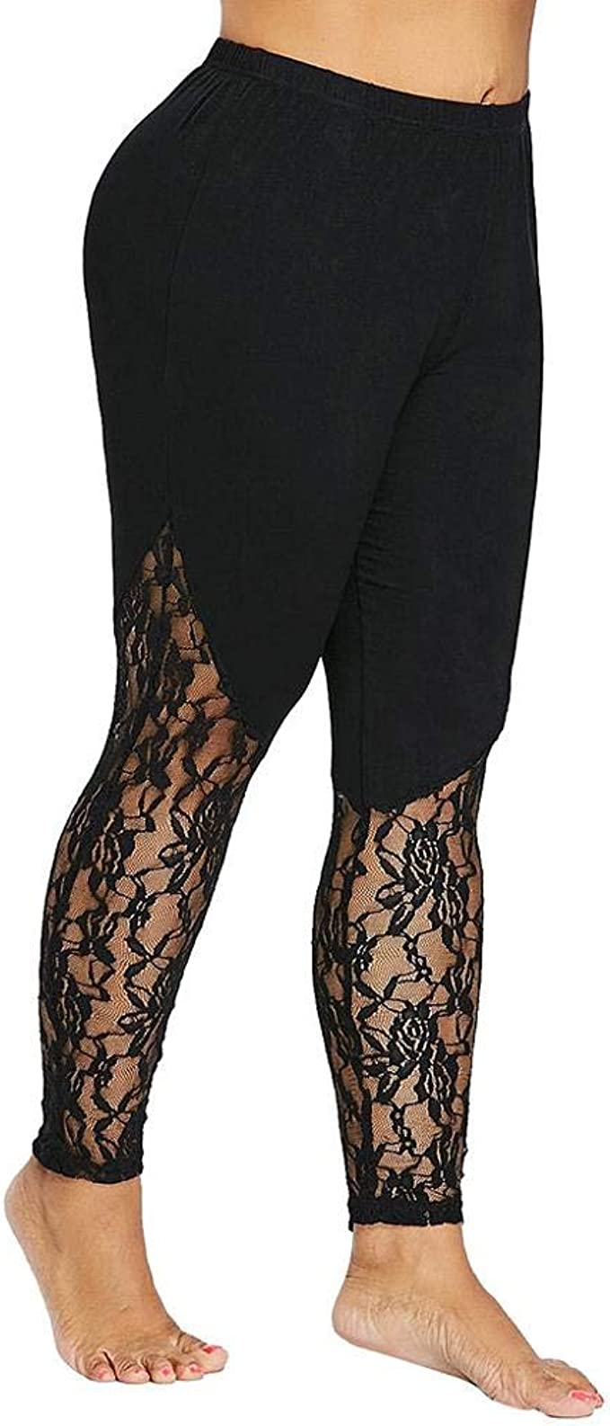 ZZpioneer Womens Casual Print Leggings Sports Workout Pants Lounge Yoga Athletic Pants Trouser