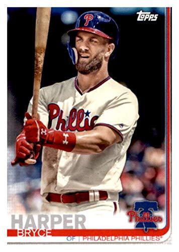 2019 Topps Team Edition Philadelphia Phillies #PP-18 Bryce Harper Philadelphia Phillies Baseball Card