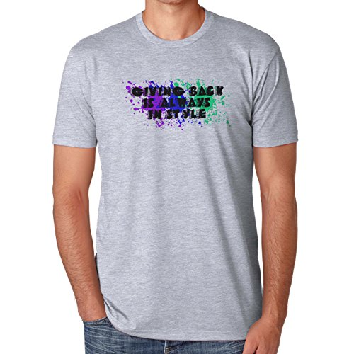 Giving Back Is Always In Style Reality Herren T-Shirt