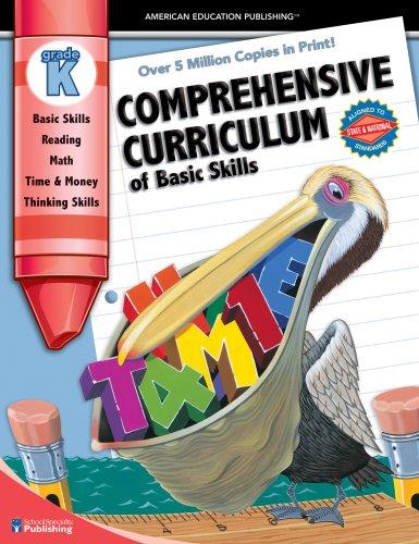 Comprehensive Curriculum of Basic Skills, Kindergarten ...