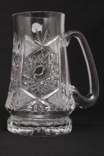 Russian-Cut-Crystal-Beer-Mug-22oz