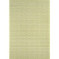 Momeni Rugs BAJA0BAJ-4GRN2346, Baja Collection Contemporary Indoor & Outdoor Area Rug, Easy to Clean, UV protected & Fade Resistant, 23 x 46, Green