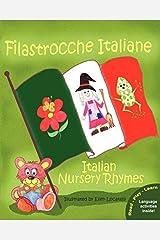 By Claudia Cerulli - Filastrocche Italiane - Italian Nursery Rhymes (large type edition) Paperback