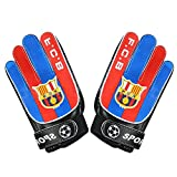 Baiyu Football Goalkeeper Gloves Anti-Slip Protector for Kids Youth Adults Secure Comfortable Durable Reduce the Chance of Injury 2 Sizes