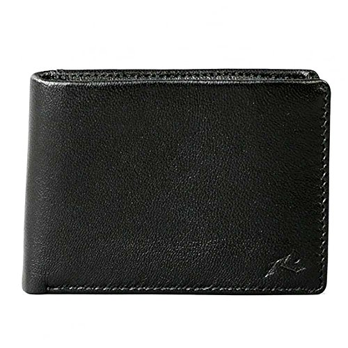 Rusty Black Ground Leather Wallet (Default, Black) -