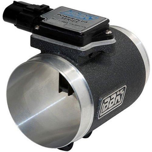 BBK 8004 76mm Mass Air Flow Meter MAF Sensor Calibrated For 24 lb Injectors, Cold Air Kit Calibration for Ford Mustang 5.0L
