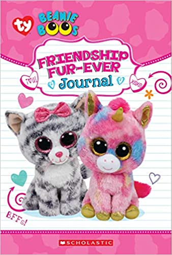 f8d0effbe71 Amazon.com  Friendship Fur-Ever (Beanie Boos Guided Journal with Fuzzy  Cover) (9781338285864)  Scholastic  Books