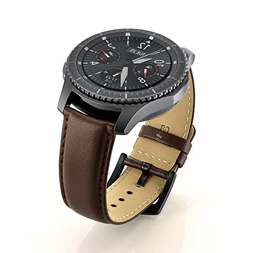 samsung galaxy gear s3 classic frontier genuine leather. Black Bedroom Furniture Sets. Home Design Ideas