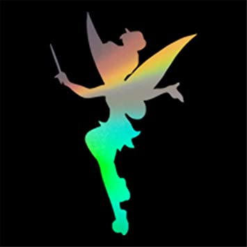 """TINKERBELL vinyl decal multiple colors 5/""""W"""