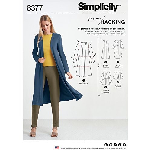 Simplicity US8377A Hacking Women's