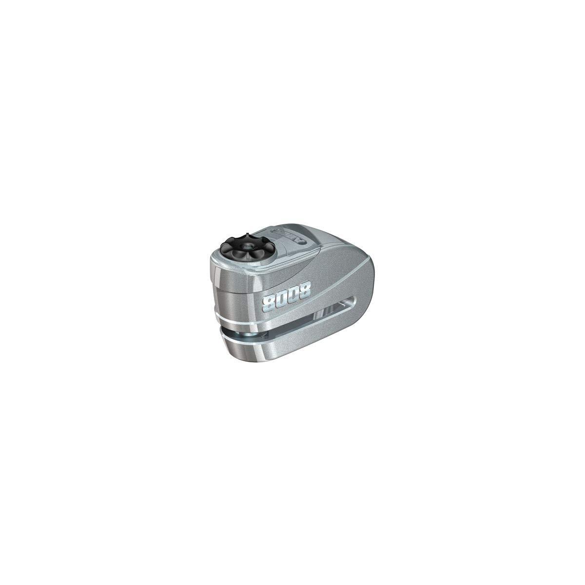 ABUS Granit Detecto X-Plus 8008 Alarm Disc Lock (Silver) by ABUS