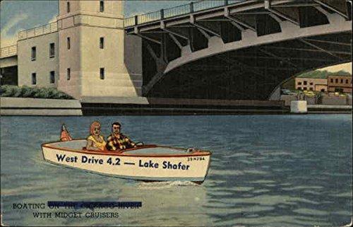 U-Drive-Em Midget Cruisers Chicago, Illinois Original Vintage Postcard