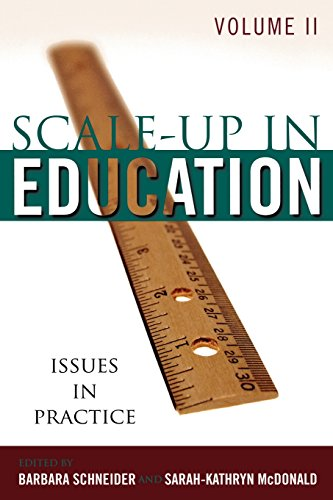 Scale-Up in Education: Issues in Practice