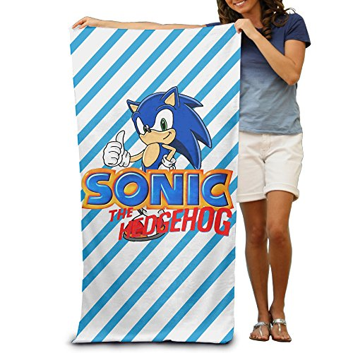 "Sonic The Hedgehog Beach Towel 31.5""*51"""