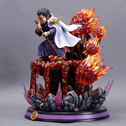 UanPlee-SC Cadeau One Piece: Figurine PVC Fujitora - 10,62 Pouces