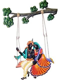 792c71cd2b1 Karigaari Adivasi Ladies Iron Wall Hanging (54.2 cm x 40.79 cm x 5.51 cm