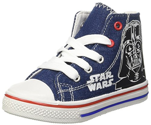Star Wars Canvas Hi - Zapatilla alta Niños Blu (Dk. Denim)
