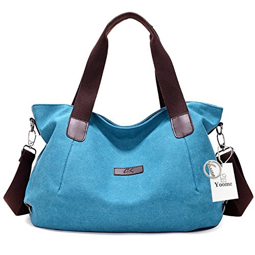 Beige para Mujer Size azul al Yoohobo0037 Bolso Rosso Yoome Red Hombro One xqwU0aFXB