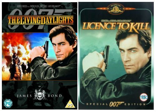 The Complete Timothy Dalton James Bond DVD Movie Collection: Living Daylights / Licence to Kill