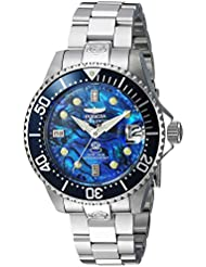 Invicta Womens Pro Diver Automatic Stainless Steel Diving Watch, Color:Silver-Toned (Model: 23986)