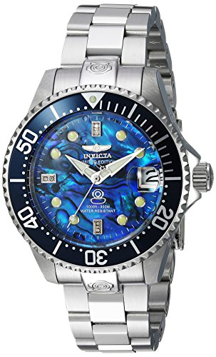 Invicta Women's 'Pro Diver' Automatic Stainless Steel Diving Watch, Color:Silver-Toned (Model: 23986)