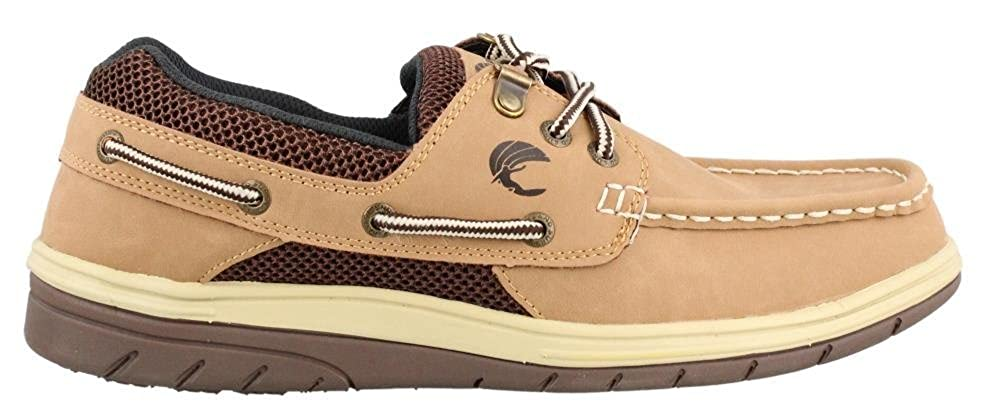 Mens Island Surf Company Sail Lite Lace up Boat Shoe Parchment Online Special Offers