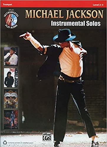 Book Michael Jackson Instrumental Solos: Trumpet Book and CD (Alfred's Instrumental Play-Along)