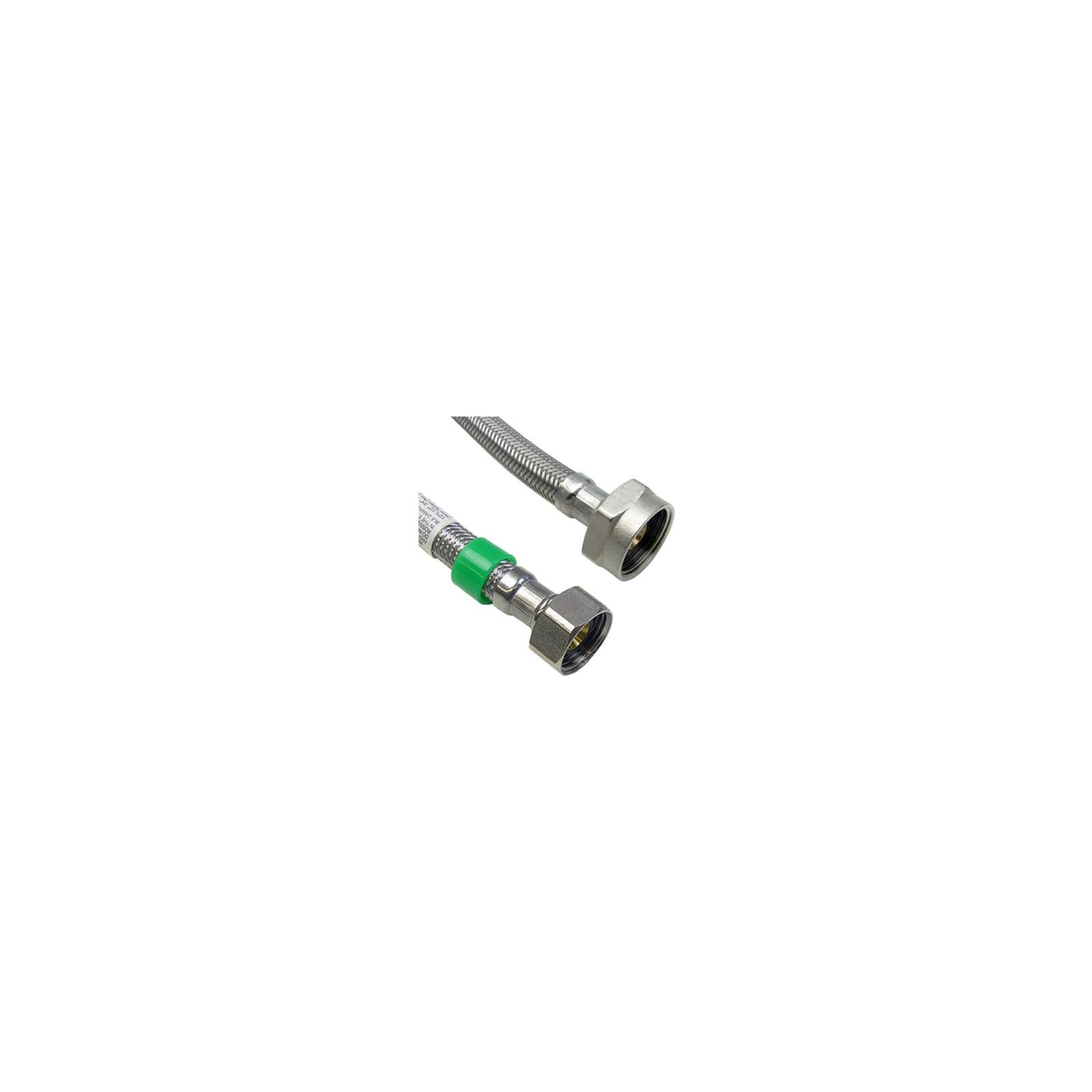 Larsen Supply 10-0821 Toilet Connector, Stainless Steel, 1/2 x 7/8 x 20-In. - Quantity 10
