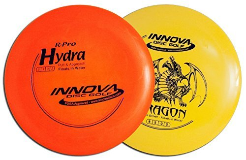 Innova Floating Disc Golf Set (Floats on Water) DX Dragon & R-Pro Hydra ()