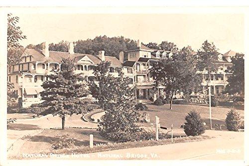 Natural Bridge Hotel Natural Bridge, Virginia postcard
