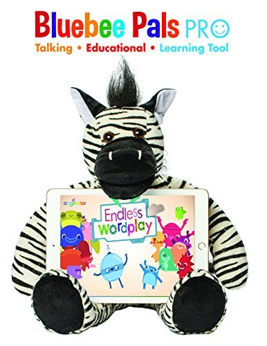 Bluebee Pal Pro The Zebra - Talking Plush Educational Learning Toy