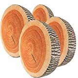 We pay your sales tax 3D Tree Wood Slice Memory Foam Cushion Pillow ~ Doll Seat Pad Home Decor (4)