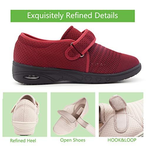 Amazon.com: AOIREMON Zapatillas de senderismo de malla ...