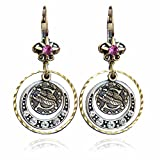 Scorpio Zodiac Sign Astrology Earrings - October and November Birthday Gifts