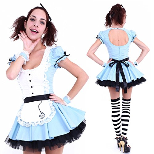 Club Queen -- Alice Short-Style Costume - XS to Small Size -