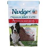 Nudges Premium Jerky Cuts Dog Treats, Steakhouse Beef, 3 Ounce