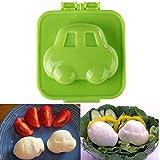 [Free Shipping] Cute Car Egg Mold Rice Mould Cooking DIY // Voiture mini oeuf sushi riz moule moule coupeur machine à déjeuner bento boît