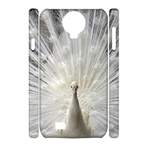 case Of Peacock 3D Bumper Plastic Cell phone Case For Samsung Galaxy S4 i9500