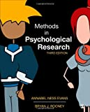 Methods in Psychological Research, Evans, Annabel Ness and Rooney, Bryan J., 1452261040