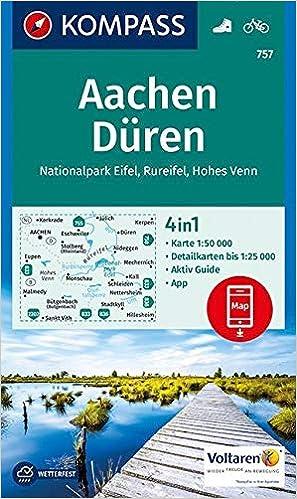 Nationalpark Eifel Karte.Kompass Wanderkarte Aachen Düren Nationalpark Eifel Rureifel