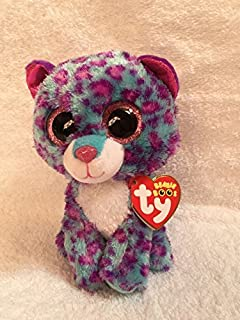 19466d3478a Ty Beanie Boos Dreamer - Leopard (Justice Exclusive) by Ty  Amazon ...