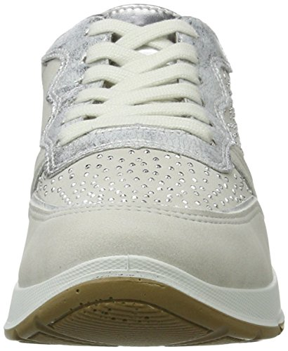 Sneaker rosegold silber cloud Bianco Glendale Jenny 07 Donna Pxp6q5nR