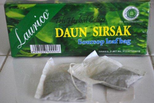 Corossol / graviola Tea Leaf Bag (50 sachets) Naturel Usa Herbal