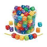 Jumbo Alphabet Lacing Beads