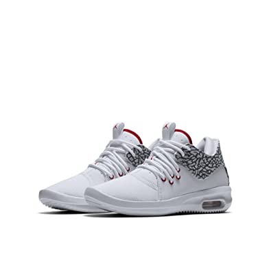 Zapatillas Jordan - Air Jordan First Class Bg Blanco/Rojo/Gris Talla: 36,5: Amazon.es: Zapatos y complementos