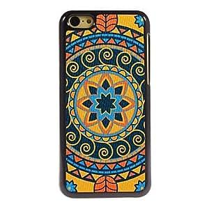 Cubierta Posterior - Dibujos Animados/Metálica/Diseño Especial/Innovador - para iPhone 5C ( Multicolor , Policarbonato/Metal )