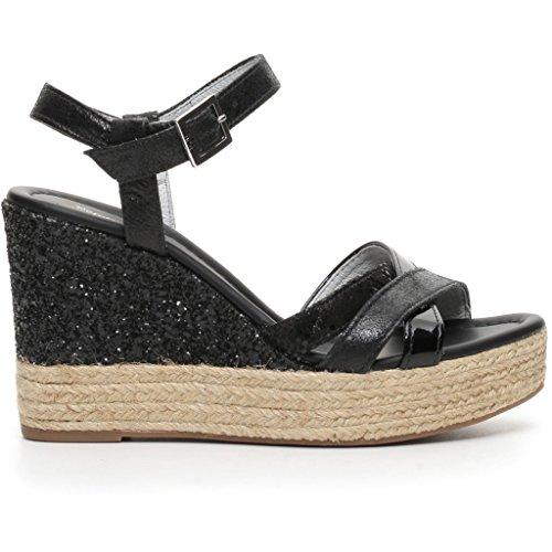 Nero Giardini Mujer zapatos con correa negro