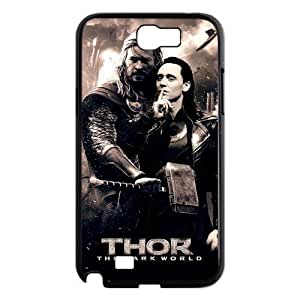 Funny Popular Movie Loki Thor The Dark World Samsung Galaxy Note2 N7100/N7102 Case Cover Gay Snap On Hard Plastic